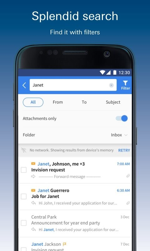 Check for Hotmail - Email & Calendar Free Samsung Galaxy Y