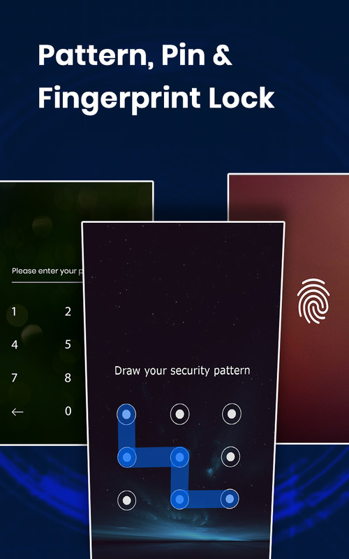 AppLock - Fingerprint Unlock Free HTC Wildfire App download