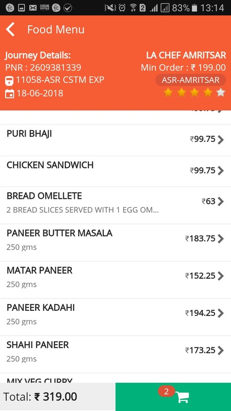 RailRestro - Food in Train Free Android App download - Download the