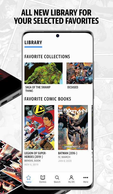 DC Universe - The Ultimate DC Membership Free Samsung Galaxy S3 App