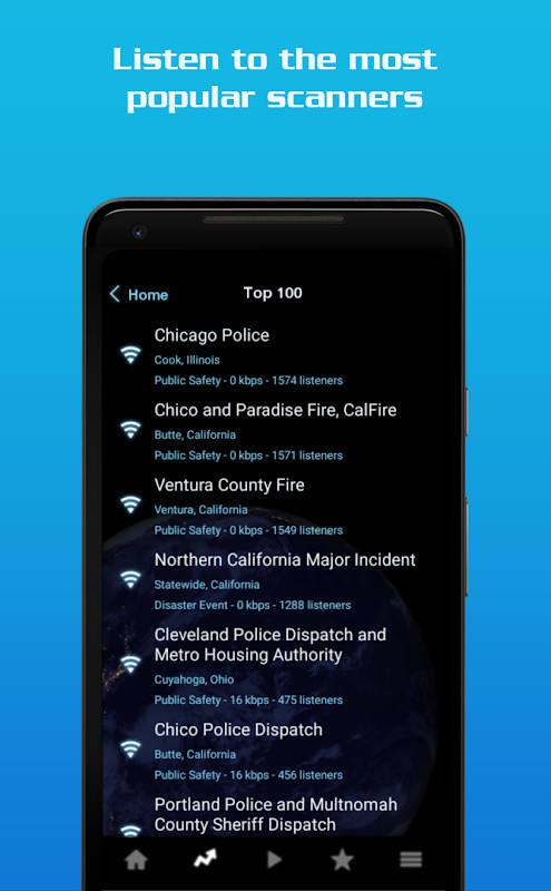 Police Scanner Radio - Hot Pursuit Police Scanner Free Android App