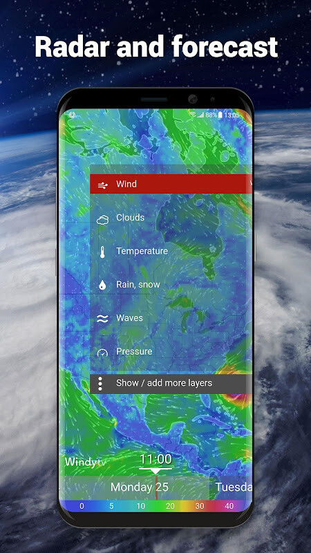 Local Weather Forecast & Real-time Radar checker Free Android App