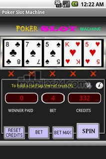 poker slot machine download free