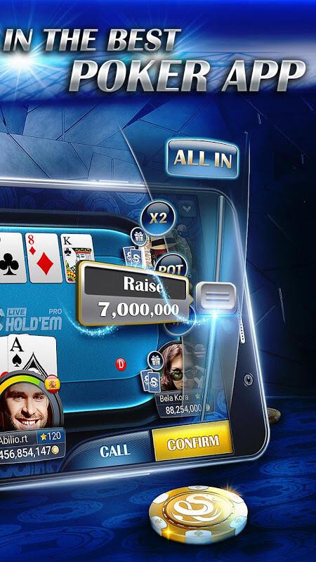 Live holdem poker