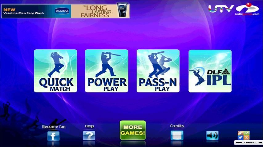 Cricket IPL T20Fever Free Android Game download - Download