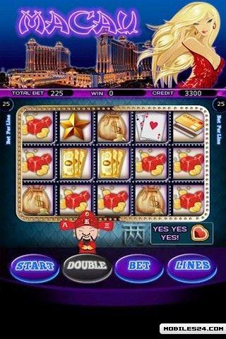 Slot machines in macau casinos