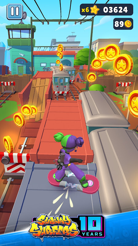 Subway Surfers Free Samsung Galaxy Ace Game download