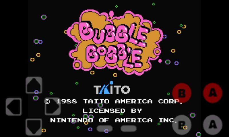 bubble bobble cellulare