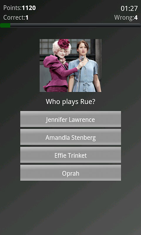 hunger games quiz free android game download download