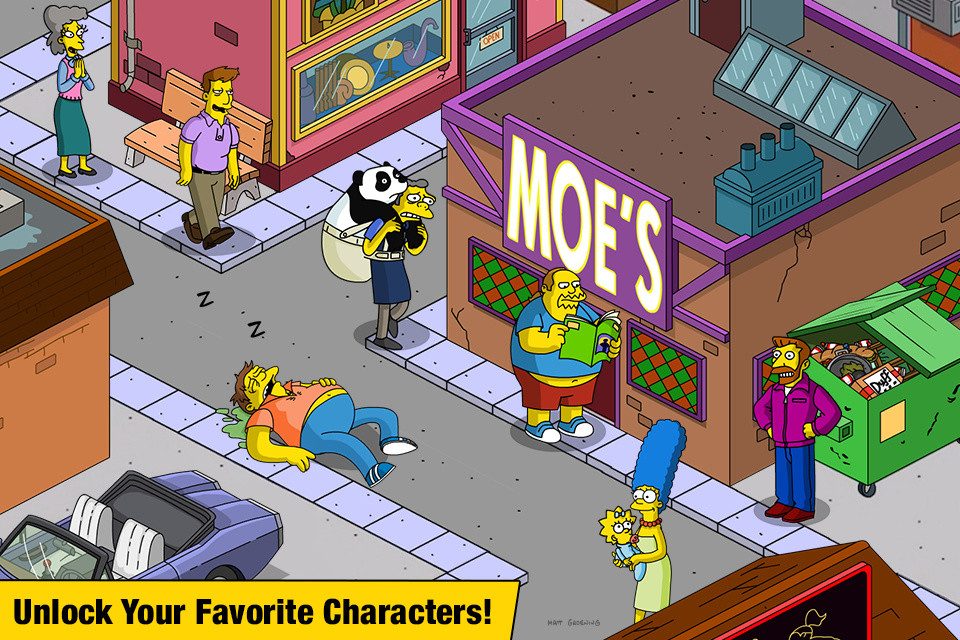 The Simpsons™: Tapped Out Free Samsung Galaxy Ace Game download