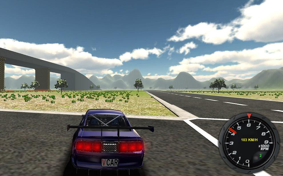 Game Java 3D Parking