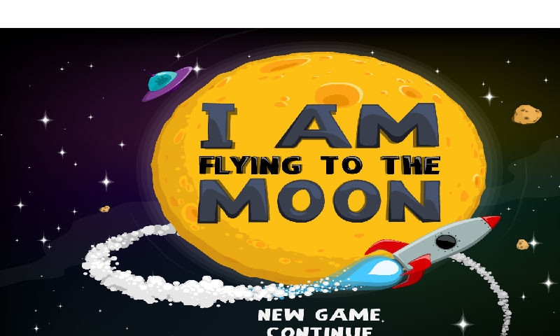 fly to moon game