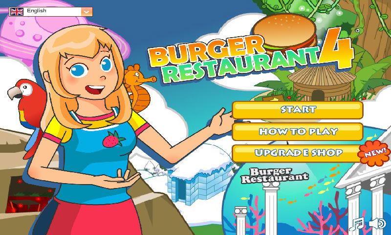 burger restaurant 4 game free download