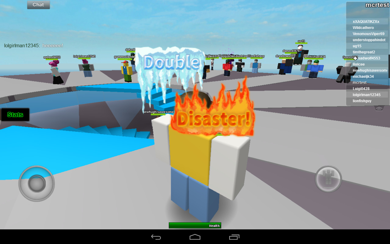 Roblox for android tablet