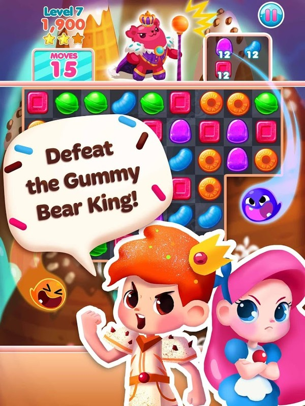 Candy Blast Mania: School Days Free Samsung Galaxy Y Duos
