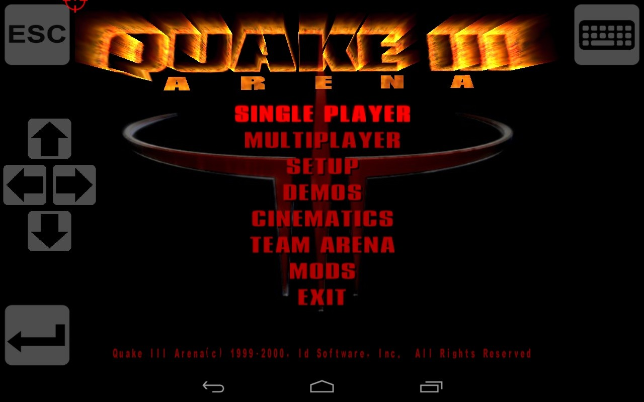 Q3-Touch (Port of Quake 3) Free Samsung Galaxy Y Game download