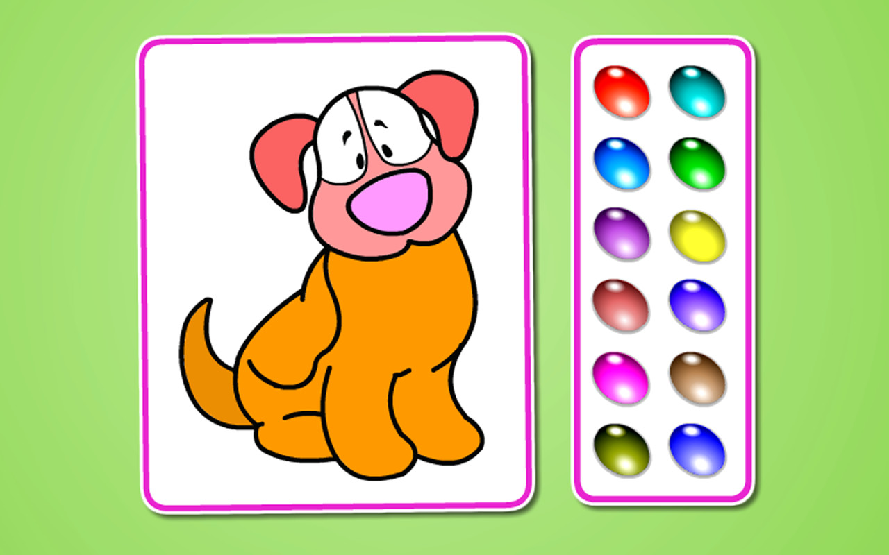 Kids Pet Coloring Free Android Game Download