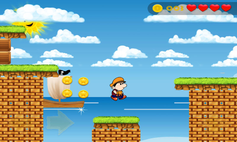 mario run and jump games