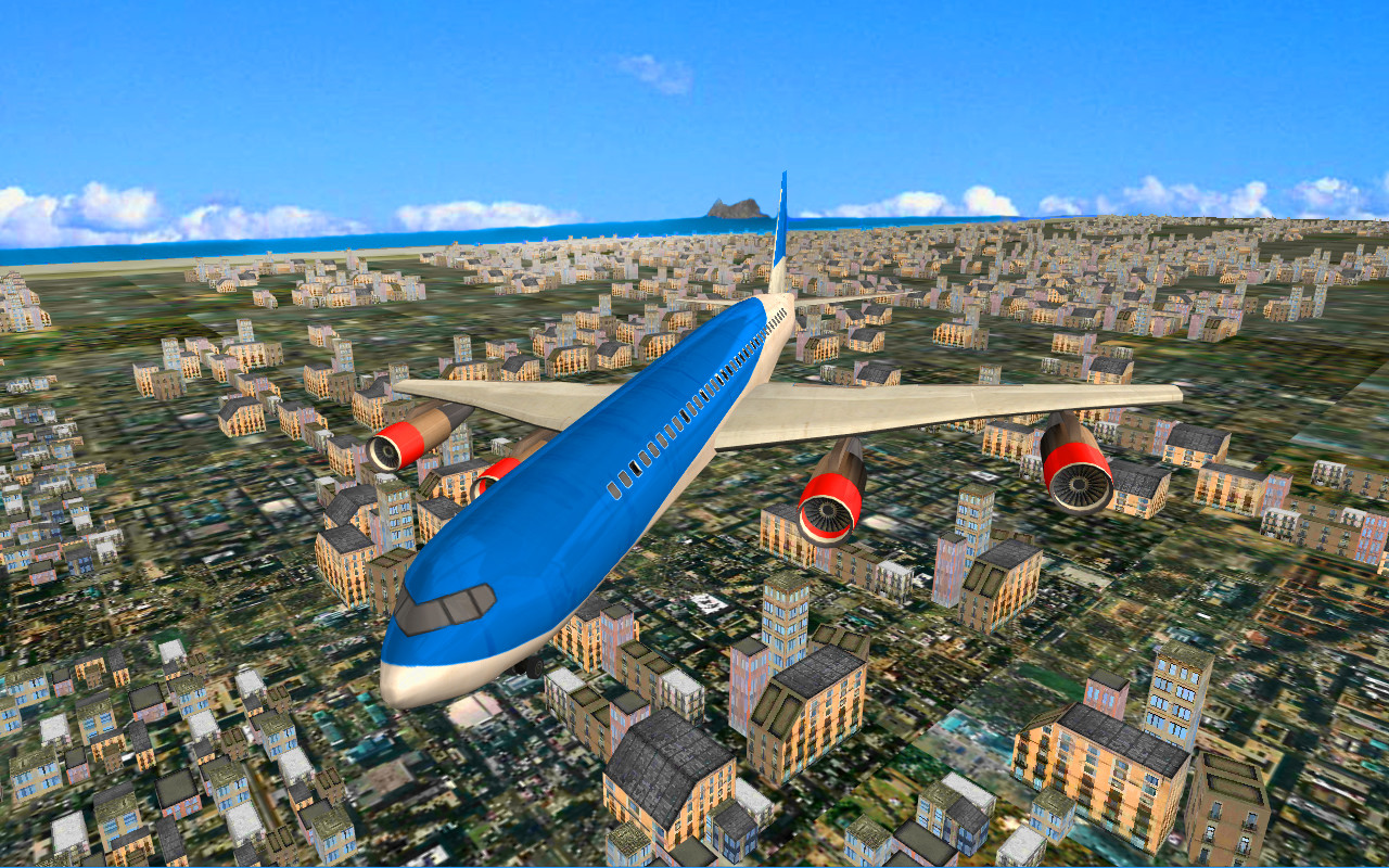 Free online commercial airplane simulation games