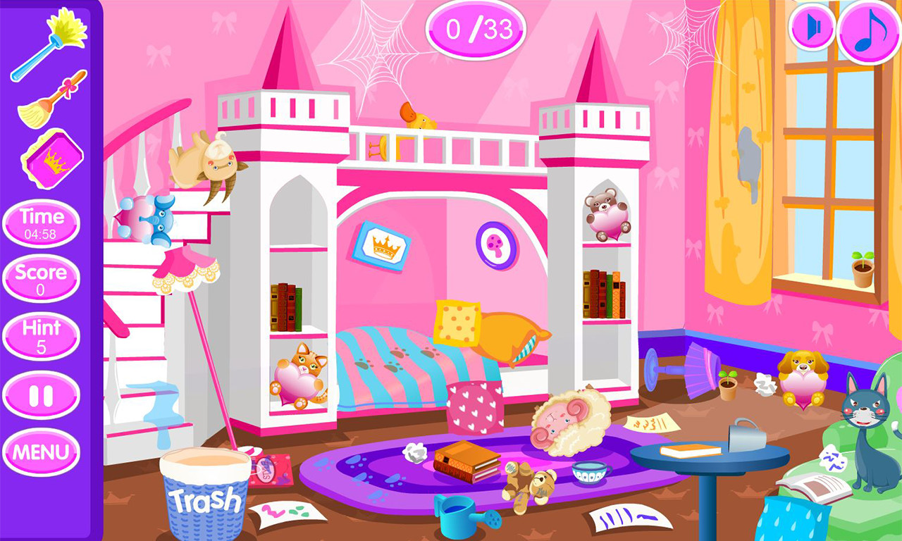 princess room clean up princess room cleanup free android
