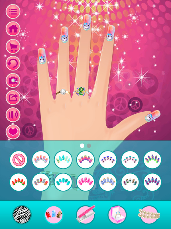 Nail salon makeover free android game download download for Salon games free download