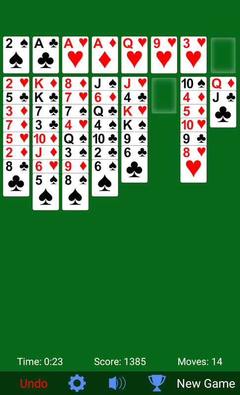 FreeCell Solitaire Free Android Game download - Download ...