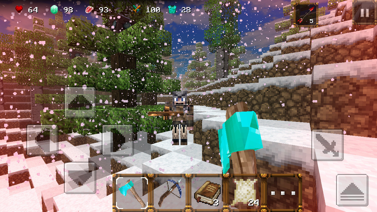 winter craft 3 mine build free android game download