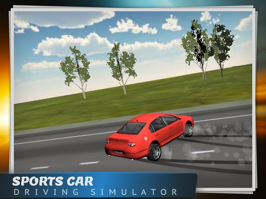 Sports Car Driving Simulator Free Android Game download