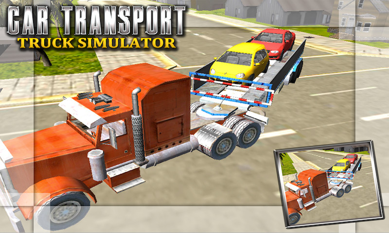 Car Transport Truck Simulator Free Android Game download