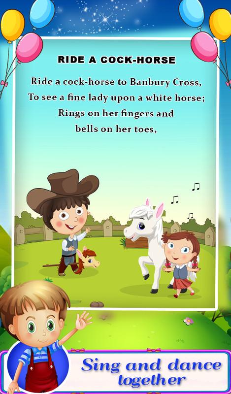 Nursery Rhymes Songs For Kids Free Samsung Galaxy Y Game download