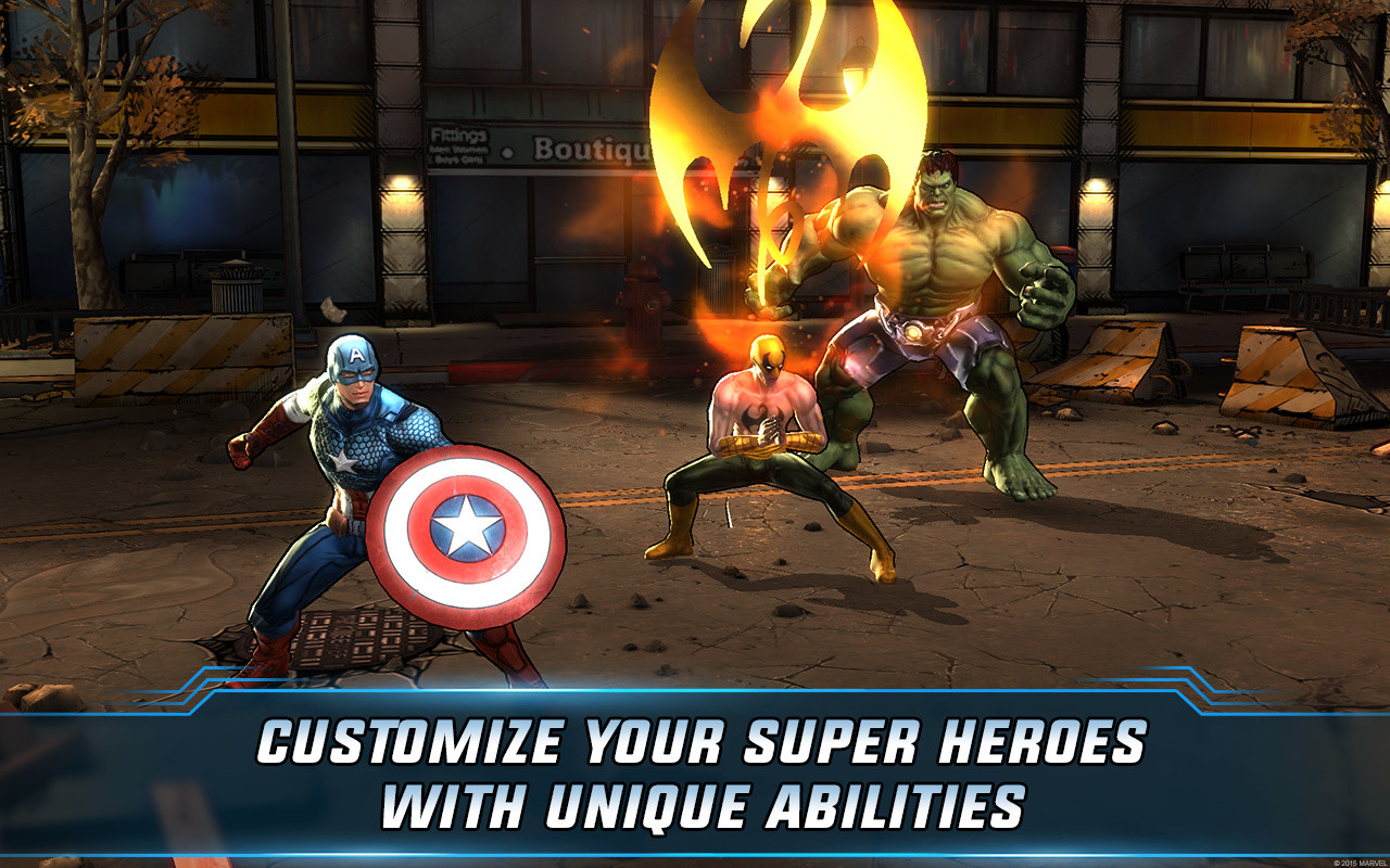 Marvel: Avengers Alliance 2 Free Android Game download