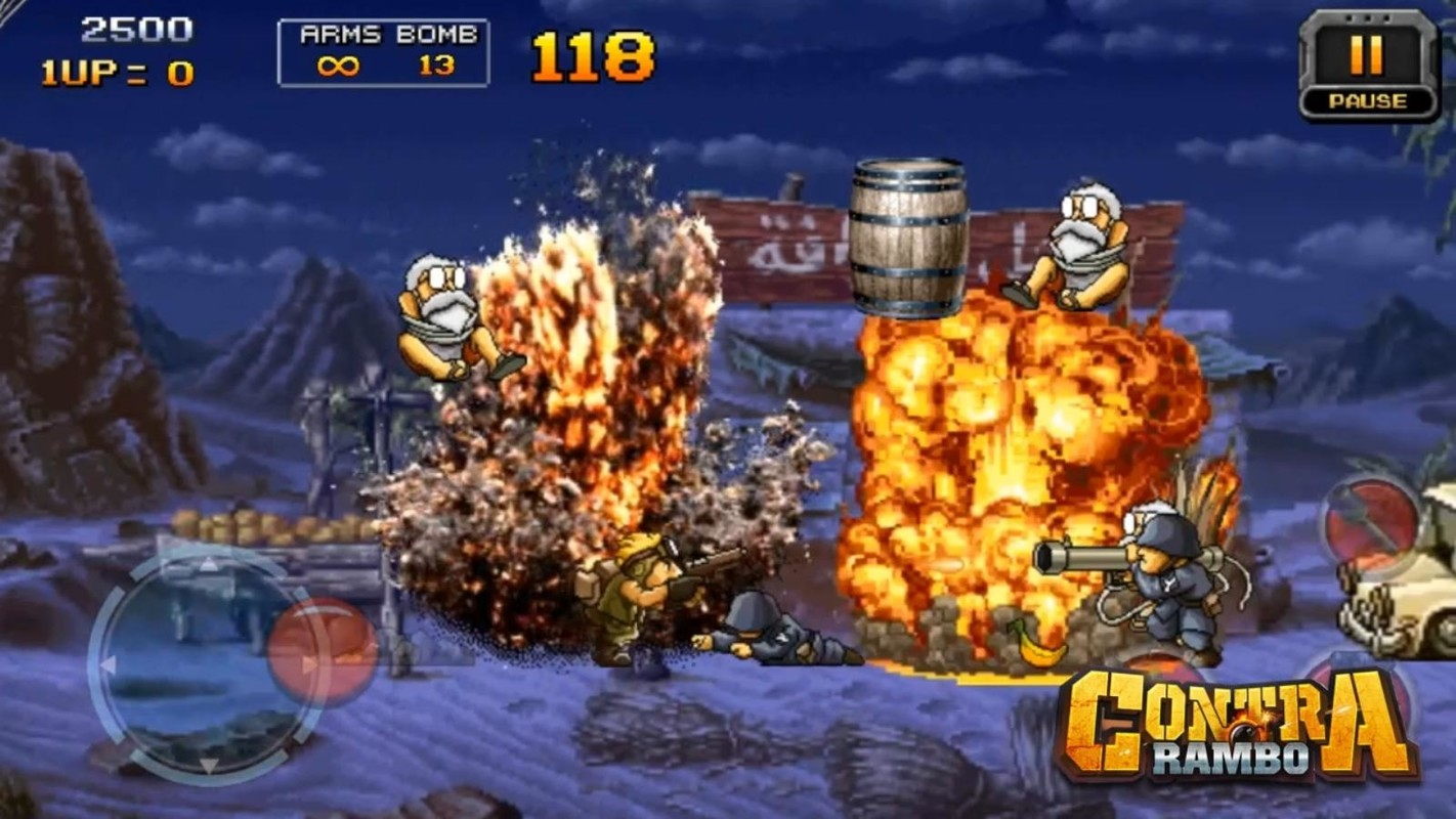 contra game free download for mobile