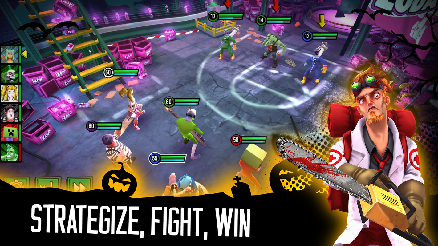 Zombie Squad: A Strategy RPG Free Samsung Galaxy Y Pro Duos