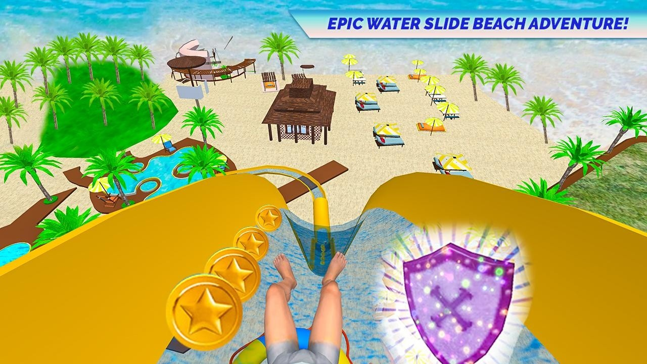 Water Slide Adventure VR Free Android Game download - Download the