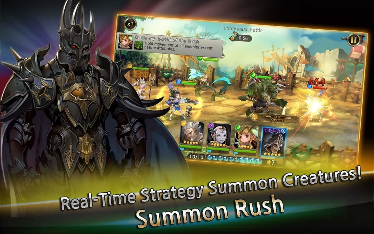 Summon Rush Free Android Game download - Download the Free