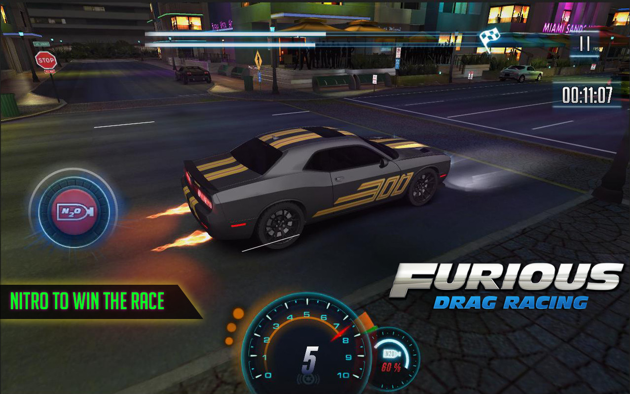 Furious 8 Drag Racing Free Android Game download - Download