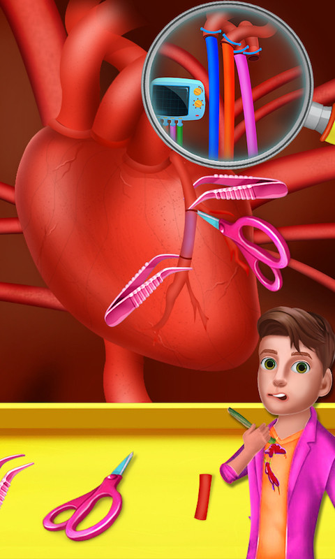 Hospital Procedure Room: Hospital Clinic Surgery Room Free Android Game Download