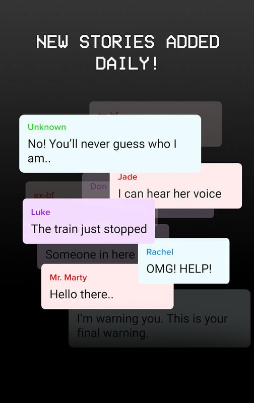 Scary Chat Stories - Hooked on Texts Free Android Game download