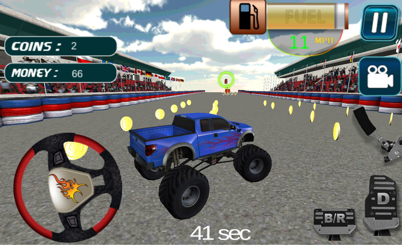 4x4 monster truck simulator free android game download download
