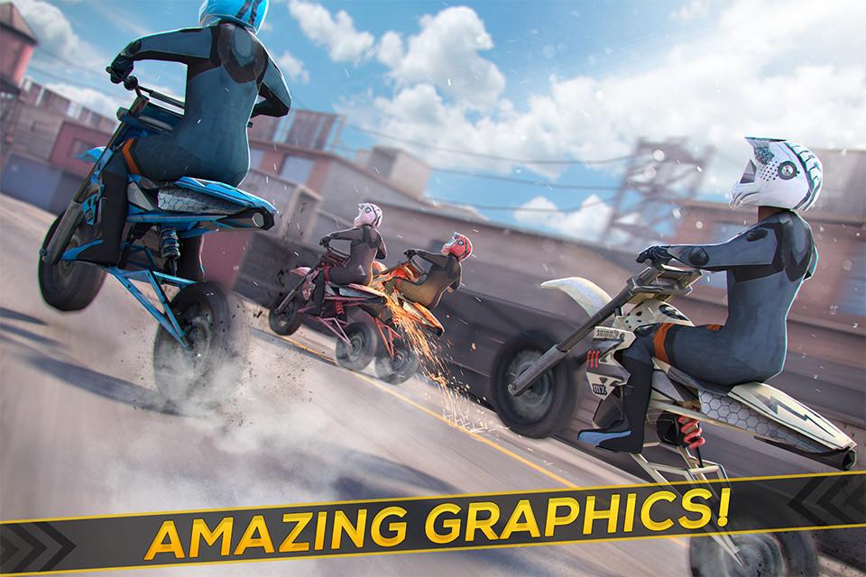 Real Motor Bike Racing - Highway Motorcycle Rider Free
