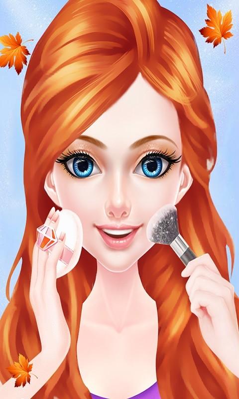 Glamorous Teenage Girl Makeup Free Android Game download