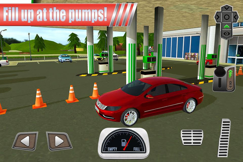 Gas Station Car Parking Sim Free Android Game Download Download