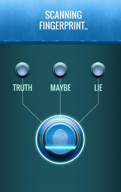 Finger Lie Detector Test Prank Free Android Game download - Download