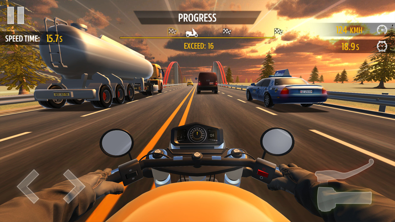 Motorcycle Racing Free Android Game