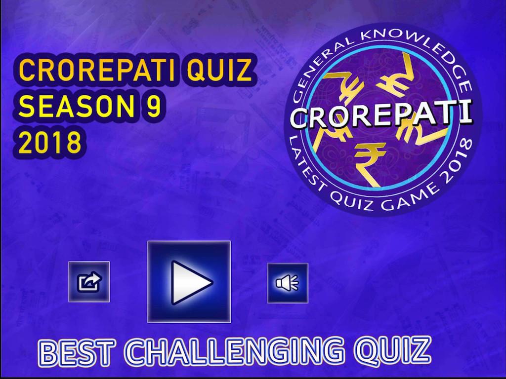 6c24c7d315e KBC Crorepati Quiz Season 9 2018 Free Samsung Galaxy Tab Game ...