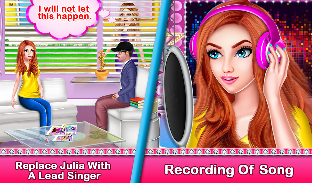 Girl Become a Rockstar Model Success Story Free Android Game
