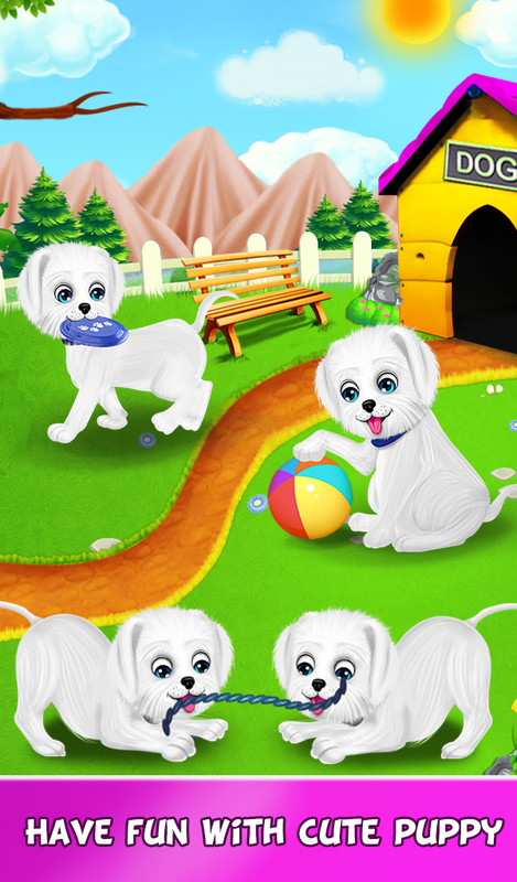 Puppy Daily Activities Game Pet Daycare Free Android Game download
