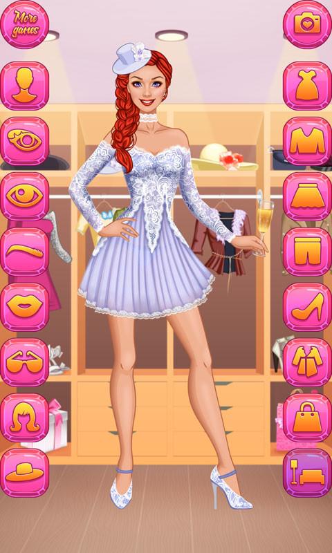 Supermodel Makeover Glam Dress Up Make