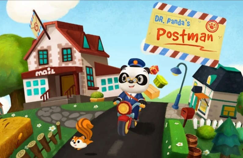 Dr Panda Postman Free Android Game download - Download the Free Dr