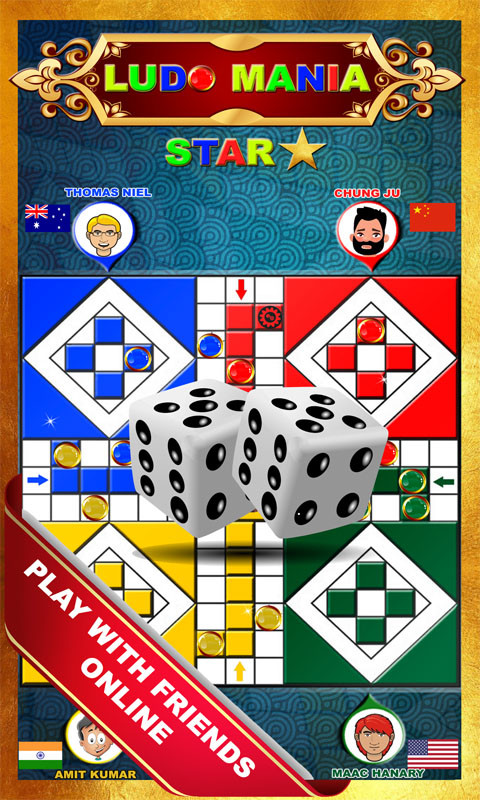Ludo Mania Star Classic Free Android Game download